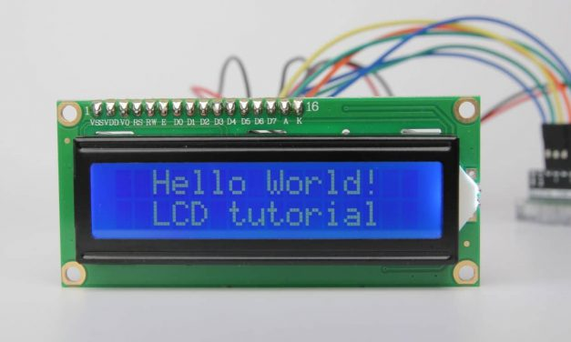 Display HELLO! on 16×2 LCD using AT89C51