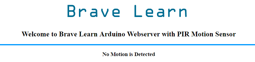 Arduino_PIR_webserver_view