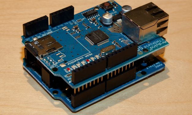 Interface Arduino with Ethernet Shield & Display Temperature using LM35 on Web Browser