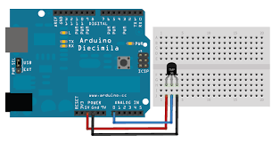 LM35 Interfacing with Arduino Mega 2560