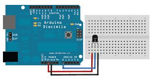 LM35 Interfacing with Arduino Mega 2560